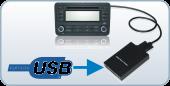 USB illesztő gyári rádióhoz