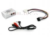 AUX-IN Adapter Skoda 12 érintkezős (Quadlock) csatlakozóval szerelt autókba 44VSKX003