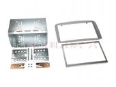 Alfa 147 autórádió beépítő keret Dupla DIN fém rögzítő kerettel 381001-07