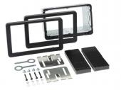 Alfa 159 autórádió beépítő keret Dupla ISO (OEM navigációhoz) 381001-16