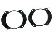 Alfa, Fiat, Peugeot hátsó ajtó hangszóró kiemelő keret 130mm 271094-17