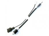 Antenna kábel RAKU 2 csatlakozós antennákhoz DIN 5,6 m 15-7581119