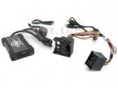 BMW 3 / 5, Mini MP3/USB/SD/AUX illesztő 17 pólusú csatlakozóval szerelt rádiókhoz 44UBMS007