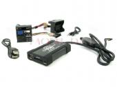 BMW 3 / 5, Mini MP3/USB/SD/AUX illesztő 40 pólusú Quadlock csatlakozóval szerelt rádiókhoz 44UBMS009