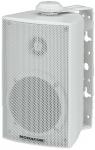 ESP-215/WS, pA hangsugárzók időjárásálló fehér műanyag házzal, elöl alumínium ráccsal