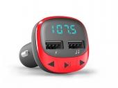 Energy FM transmitter RED autós MP3 átjátszó piros