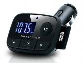 Energy f2 Black Knight autós MP3 lejátszó fekete