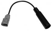 FAKRA hüvely - DIN hüvely OEM antenna adapter kábel 520135