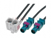 FAKRAx2 - Dupla Fakra (fehér) antenna adapter kábel 520174