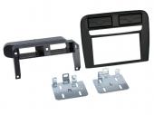 Fiat Grande Punto 2005-2010 fekete dupla DIN rádió beépítő keret 381094-14-2
