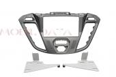 Ford Transit - Tourneo 2012.11-> dupla DIN autórádió keret phönix silber 381114-26-1