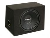 Gladen Audio M-LINE 12 ZD autóhifi subwoofer zárt ládában