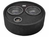 Gladen Audio RS 08 Round Box DUAL subwoofer zárt ládában