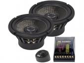 Gladen Audio SQL 165 Dual két utas dupla wooferes autóhifi hangszóró szett