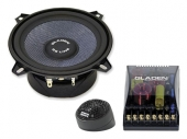 Gladen Audio SQX 130 két utas autóhifi hangszóró
