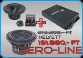 Gladen Audio ZERO akciós autóhifi csomag