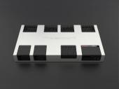 Gladen Zero 4 nagy teljesítményű High End négycsatornás autóhifi erősítő