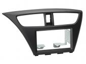 Honda Civic 2012.02-> autórádió beépítő keret dupla DIN 381130-18