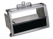 Hyundai i20 (PB) 2009.03-2012.05 1 és 2 DIN autórádió beszerelő keret ezüst 281143-20-2