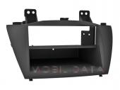Hyundai iX35 2010.02-> autórádió beépítő keret 2 DIN fiókkal 572405-C