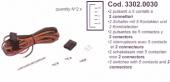 Spal Kábelköteg 2x (5 s) kapcsolóhoz Kód:3302.0030