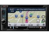 """Kenwood DNX317BTS 6.2"""" Multimédia fejegység GPS navigációval és BT kihangosítóva"""