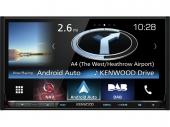 Kenwood DNX8160DABS navigációs mobil multimédia rendszer