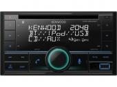 Kenwood DPX-5200BT 2 DIN MP3/WMA/CD-autórádió USB-AUX Bluetooth Spotify és Amazon Alexa támogatással