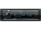 Kenwood KMM-BT306 mechanika nélküli USB autórádió iPod Direct vezérléssel Spotify és Amazon Alexa támogatással
