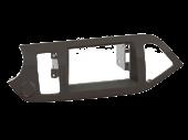 Kia Picanto 2011.05-> dupla DIN autórádió beépítő keret 381178-30