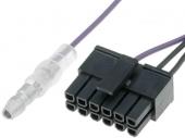 Kormánytávkapcsoló interface kábel ZENEC rádiókhoz CT-ZENECLEAD