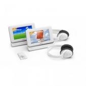 Lenco DVP-7401 x2 DUAL DVD lejátszó 2 x 7 coll LCD-vel (+ USB csatlakozó) + fejhallgatók
