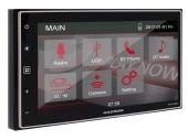 Macrom M-DL4000 2 DIN méretű mechanika nélküli médialejátszó