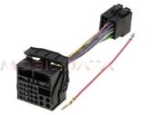 Mercedes OEM Audio 10 rádió - ISO csatlakozó kábel 554164