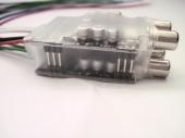 Mosconi HLA-DUAL High-Low adapter (jelszintcsökkentő) 4 csatornás