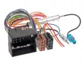 Opel - ISO rádió csatlakozó kábel + Fantom táp 552137-F