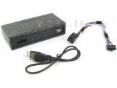 Peugeot MP3/USB illesztő Quadlock csatlakozóval szerelt rádiókhoz 44UPGS011