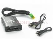 Peugeot - Citroen - Toyota MP3/USB/SD/AUX illesztő Mini ISO csatlakozóval szerelt rádiókhoz 44UTYS003
