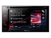 Pioneer AVH180DVD 2DIN érintőképernyős CD DVD-tuner USB multimédia fejegység iPod közvetlen vezérléssel