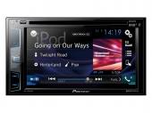 Pioneer AVH-X3800DAB 2 DIN érintőképernyős CD DVD DAB-tuner USB Bluetooth multimédia fejegység