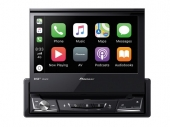 Pioneer AVH-Z7200DAB 1DIN kiforduló érintőképernyős autós multimédia lejátszó CD/DVD, Bluetooth, Apple Carplay Android Auto