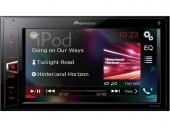 Pioneer MVH-AV290BT 6,2 collos érintőképernyős multimédia lejátszó Bluetooth-al és USB-vel