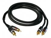 RCA kábel Gladen Audio CH-ZERO 1,5 m