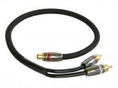 RCA kábel Gladen Audio CH-ZERO Y elosztó 1F-2M
