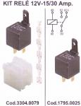 Relé 12VDC 40/30A (5 sarus)