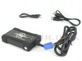 Renault MP3/USB/SD/AUX illesztő Mini ISO csatlakozóval szerelt rádiókhoz 44URNS003