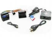 Renault MP3/USB/SD/AUX illesztő 2009-> QuadLock csatlakozóval szerelt rádiókhoz 44URNS005