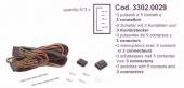 SPAL Kábelköteg 3x (5 s) kapcsolóhoz Kód:3302.0029
