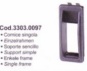 SPAL Univerzális kapcsoló keret húzó-nyomó kapcsolóhoz Kód: 33030097