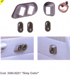 SPAL kapcsoló készlet Opel Tigra-hoz (szürke) Kód: 3304.0221